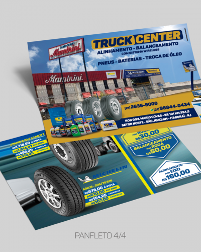 panfleto truck center mambrini